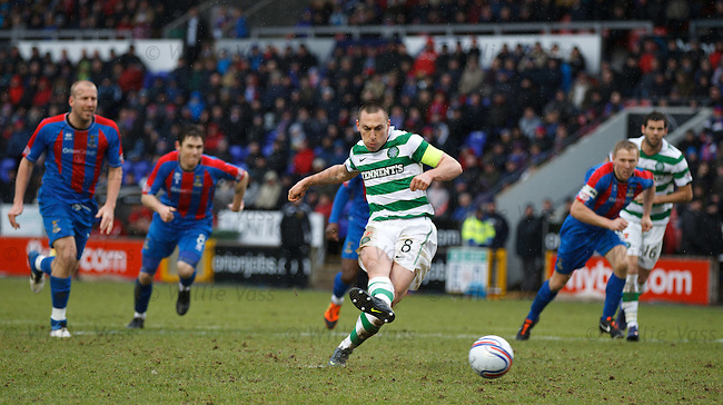 Scott Brown scores from the penalty spot