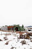 USA; New Mexico; Taos; Earthships community 13 miles West of Taos on Hwy 64