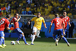 Hulk (BRA), JUNE 28, 2014 - Football / Soccer : FIFA World Cup Brazil 2014 round of 16 match between Brazil and Chile at the Mineirao Stadium in Belo Horizonte, Brazil. (Photo by AFLO)