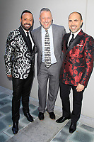 LOS ANGELES - JUN 11: Nick Verreos, Keith McNutt, David Paul at The Actors Fund's 22nd Annual Tony Awards Viewing Party at the Skirball Cultural Center on June 10, 2018 in Los Angeles, CA