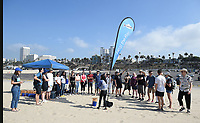 SANTA MONICA - SEPTEMBER 9: FX talent and employees volunteer for FX and Disney's Summer of Service Beach Cleanup with Heal the Bay on September 9, 2019 in Santa Monica, California. (Photo by Frank Micelotta/FX/PictureGroup)