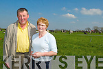 FAIR PRICE: Theresa and Maurice Walsh, Lixnaw are amongst.Kerry dairy farmers concerned over current pricing systems.