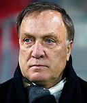 Nederland, Alkmaar, 27 maart 2014<br /> KNVB Beker<br /> Seizoen 2013-2014<br /> Halve finale<br /> AZ-Ajax<br /> Dick Advocaat, trainer-coach van AZ