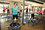 CEO Henry Richardson participates in a Bounce class at Define on Bissonet Wednesday June 29,2016.(Dave Rossman Photo)