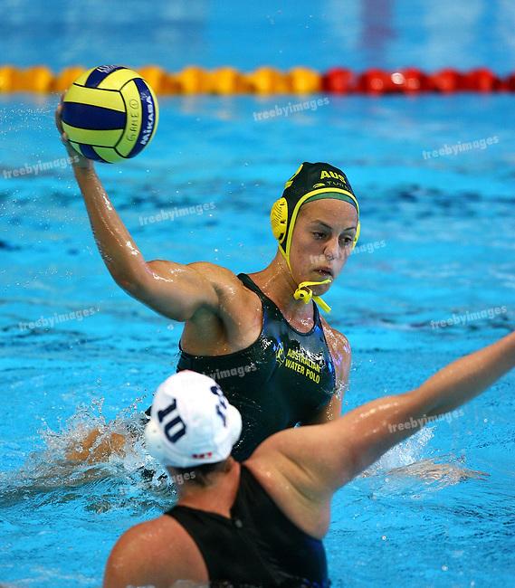 Fina World Swimming Championships Melbourne 2007. Water Polo Australia v Canada