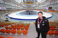 SPEEDSKATING: SOCHI: Adler Arena, 21-03-2013, Training, Artur Was (POL), © Martin de Jong