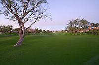 Dusk view of La Quinta golf course