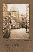BNPS.co.uk (01202 558833)<br /> Pic: ForumAuctions/BNPS<br /> <br /> The back of the Three Mariners - where Henchard fell off the wagon in the Mayor  of Casterbridge.<br /> <br /> Extraordinary photo album reveals Thomas Hardy as personal tour guide around his most famous novel.<br /> <br /> A personalised photograph album documenting a guided tour of 'Casterbridge' that novelist Thomas Hardy gave a literary friend has emerged almost 100 years later.<br /> <br /> The famous author showed playwright John Drinkwater the real-life locations that inspired him to write the classic 1886 novel The Mayor of Casterbridge.<br /> <br /> Mr Drinkwater took photographs of various venues that feature prominently in the novel.<br /> <br /> He also captured some of the last images of Hardy who died two years later.