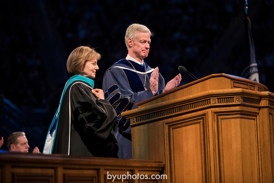 _E1_7390<br /> <br /> 1704-51 2017 Spring Commencement<br /> <br /> April 27, 2017<br /> <br /> Photography by Nate Edwards/BYU<br /> <br /> &copy; BYU PHOTO 2016<br /> All Rights Reserved<br /> photo@byu.edu  (801)422-7322