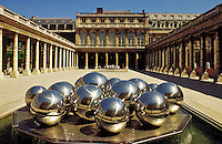 France. Paris.  The Palais Royal, built by Lemercier for Richelieu.between 1634 and 1639..