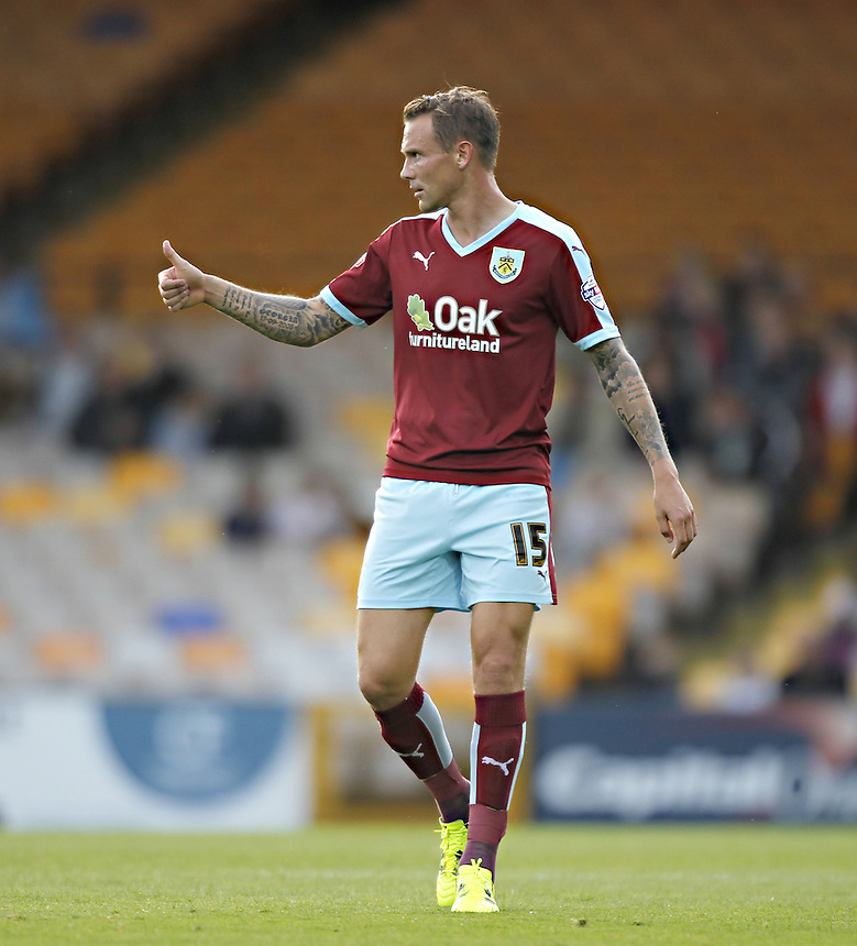 Burnley's Matthew Taylor<br />