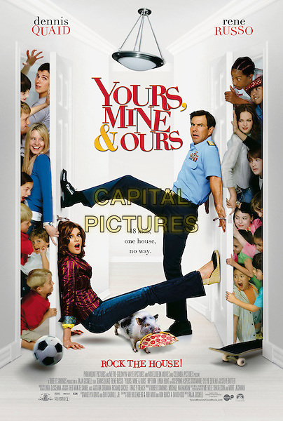 POSTER ART.in Yours, Mine and Ours .*Filmstill - Editorial Use Only*.CAP/AWFF.Supplied by Capital Pictures.