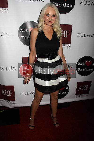 "Donna Spangler<br /> at the Sue Wong ""Mythos and Goddesses"" Fashion Show, Taglyan Complex, Los Angeles, CA 03-09-15<br /> David Edwards/DailyCeleb.com 818-249-4998"