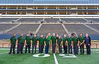 October 22, 2019; Team Irish - Events Setup Team (Photo by Barbara Johnston/University of Notre Dame)