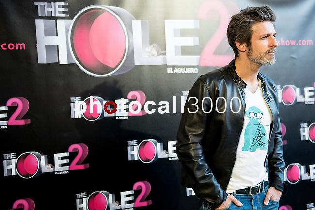 Teatro La Latina. Madrid. Spain. 13/05/2014.<br /> Press pass The Hole 2.<br /> Jesus Olmedo.