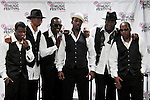 Ricky Bell, Michael Bivins, Johnnie Gill, Ralph Trasvant, Bobbie Brown, and Ronnie DeVoe of New Edition attend the 2011 Essence Music Festival on July 3, 2011 in New Orleans, Louisiana at the Louisiana Superdome.