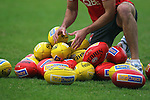 AFL Sydney Swans training at the Sydney Cricket Ground, Tuesday May 24th 2011.(Photo: Steve Christo).