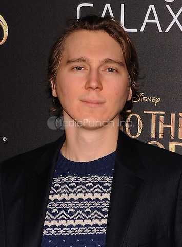 New York,NY-December 8: Paul Dano  Attends the 'Into The Woods' world premiere at the Ziegfeld Theater on December 8, 2014. Credit: John Palmer/MediaPunch