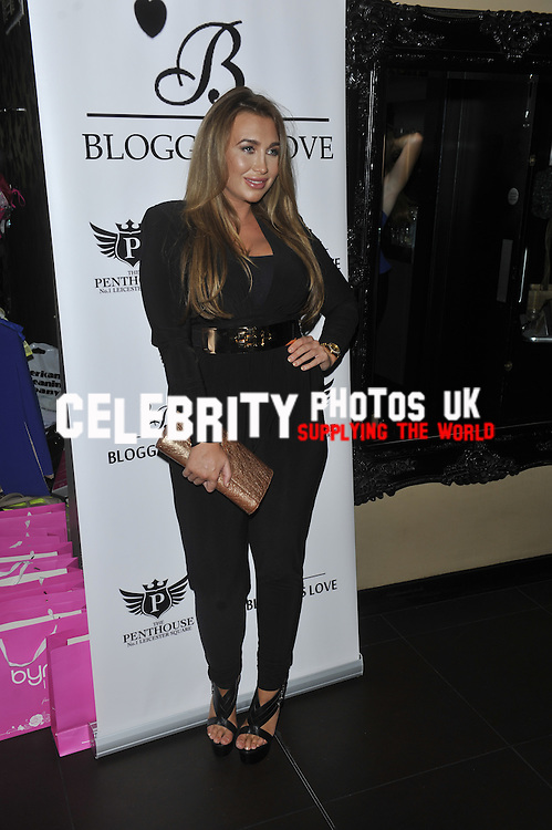 The Bloggers Love Collection - fashion show at the Penthouse Club, Leicester Square, London - August 22nd 2013 Photo by Brian jordan