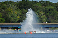 Frame 8: Dan Orchard, (#97) spins and rolls over in the East Turn. (SST-120 class)