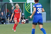 Portland, OR - Saturday May 06, 2017: Amandine Henry during a regular season National Women's Soccer League (NWSL) match between the Portland Thorns FC and the Seattle Reign FC at Providence Park.