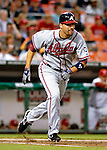 16 May 2007: Atlanta Braves right fielder Jeff Francoeur in action against the Washington Nationals at RFK Stadium in Washington, DC. The Nationals rallied to defeat the Braves 6-4 to take a 2-1 lead in their four-game series...Mandatory Photo Credit: Ed Wolfstein Photo