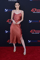 """LOS ANGELES - AUG 13:  Indiana Massara at the """"47 Meters Down: Uncaged"""" Los Angeles Premiere at the Village Theater on August 13, 2019 in Westwood, CA"""