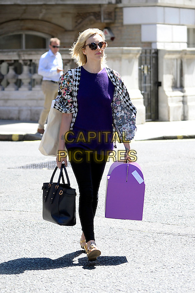 LONDON, ENGLAND - 14 July; Fearne Cotton leaving BBC Radio 1, London, England, 14th July 2014<br /> CAP/IA<br /> &copy;Ian Allis/Capital Pictures