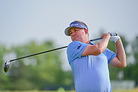 Jason Dufner (USA) watches his tee shot on 12 during Thursday's round 1 of the 117th U.S. Open, at Erin Hills, Erin, Wisconsin. 6/15/2017.<br /> Picture: Golffile | Ken Murray<br /> <br /> <br /> All photo usage must carry mandatory copyright credit (&copy; Golffile | Ken Murray)