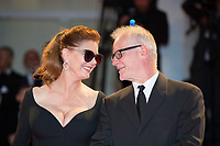 Susan Sarandon &amp; Thierry Fremaux at the &quot;The Leisure Seeker (Ella &amp; John)&quot; premiere, 74th Venice Film Festival in Italy on 3 September 2017.<br /> <br /> Photo: Kristina Afanasyeva/Featureflash/SilverHub<br /> 0208 004 5359<br /> sales@silverhubmedia.com