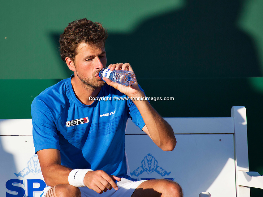 Netherlands, The Hague, Juli 21, 2015, Tennis,  Sport1 Open, Robin Haase (NED)<br /> Photo: Tennisimages/Henk Koster