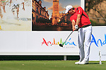 Jamie Elson (ENG) in action on the 16th tee during Day 1 Thursday of the Open de Andalucia de Golf at Parador Golf Club Malaga 24th March 2011. (Photo Eoin Clarke/Golffile 2011)