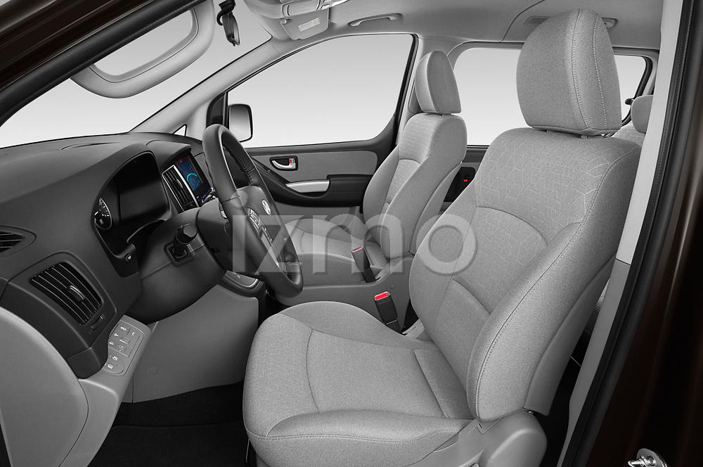 Front seat view of a 2019 Hyundai H1-People Executive 5 Door Mini Van front seat car photos