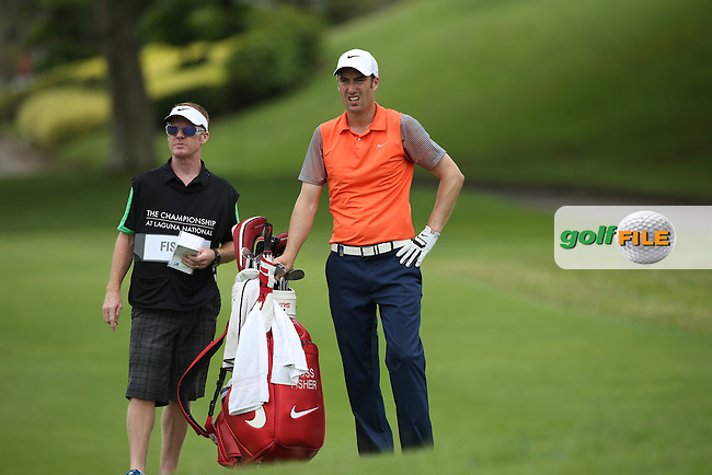 Ross Fisher (ENG) carded a bogey-filled 73 during Round One of the The Championship 2014 from the Laguna National Golf & Country Club, Tampines, Singapore. Picture:  David Lloyd / www.golffile.ie