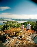 USA, Idaho, a couple hikes in the mountains next to Priest Lake