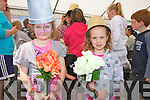 Flower girls at the Waterville Children's Festival on Saturday were l-r; Ella Courtney & Ellie Higgins.