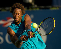 Gael Monfils (FRA) (13) against Andreas Beck (GER) in the second round. Monfils beat Beck 6-3 7-5 6-3..International Tennis - US Open - Day 3 Wed 02 Sep 2009 - USTA Billie Jean King National Tennis Center - Flushing - New York - USA ..© Frey, Advantage Media Network, Level 1, Barry House, 20-22 Worple Road, London, SW19 4DH +44 208 947 0100..
