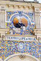 theatre Teatro Lope de Vega Valladolid spain castile and leon