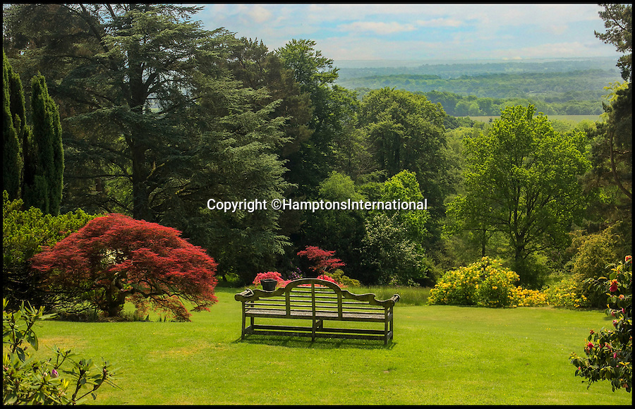 BNPS.co.uk (01202 558833)<br /> Pic: HamptonsInternational/BNPS<br /> <br /> The Alhambra of the Surrey Hills - Spanish style hill top villa will leave you wanting Moor....<br /> <br /> This Spanish-style mansion that's modelled on a royal palace and perched in the idyllic English countryside has emerged for £6,500,000. <br /> <br /> The unique building, exhibiting a fascinating blend of Moorish and Arts & Crafts design, was inspired by Granada's world-famous Alhambra. <br /> <br /> Built in 1930, the striking ten bedroom property has a green roof and takes an unusual U-shape form. <br /> <br /> Its splendid design is complemented by the remarkable surroundings - 600ft atop the Surrey hills' Area of Outstanding Natural Beauty, boasting expansive views across the South Downs.