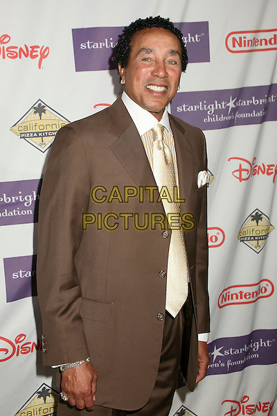 "SMOKEY ROBINSON.Starlight Starbright Foundation's ""A Stellar Night Gala"" 2007 at the Beverly Hilton Hotel, Beverly Hills, California , USA, 23 March 2007..half length.CAP/ADM/BP.©Byron Purvis/AdMedia/Capital Pictures."
