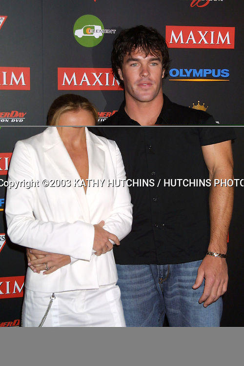 "©2003 KATHY HUTCHINS / HUTCHINS PHOTO AGENCY.MAXIM'S ""HOT 100"" PARTY.LOS ANGELES, CA.JUNE 11, 2003..."