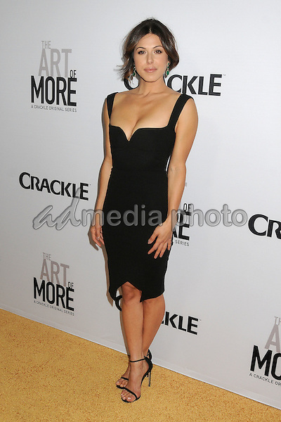 "29 October 2015 - Culver City, California - Cristina Rosato. ""The Art Of More"" Series Premiere held at Sony Pictures Studios. Photo Credit: Byron Purvis/AdMedia"