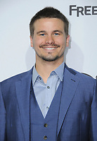 21 May 2017 - Burbank, California - Jason Ritter. ABC Studios and Freeform International Upfronts held at The Walt Disney Studios Lot in Burbank. Photo Credit: Birdie Thompson/AdMedia