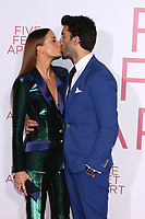 """LOS ANGELES - MAR 7:  Emily Baldoni, Justin Baldoni at the """"Five Feet Apart"""" Premiere at the Bruin Theater on March 7, 2019 in Westwood, CA"""