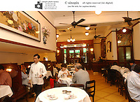 The Luk Yue Teahouse in Stanley Street Central, Hong Kong.