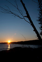 January Sunset at Sugarloaf Cove SNA; Scientific and Natural Area