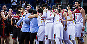 5th September 2017, Fenerbahce Arena, Istanbul, Turkey; FIBA Eurobasket Group D; Turkey versus Belgium; Players of Turkey celebrate the victory at the end of the match