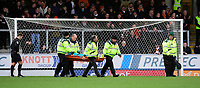 Blackpool's Mark Howard is carried off on a stretcher after suffering an injury<br /> <br /> Photographer Chris Vaughan/CameraSport<br /> <br /> The EFL Sky Bet League One - Burton Albion v Blackpool - Saturday 16th March 2019 - Pirelli Stadium - Burton upon Trent<br /> <br /> World Copyright &copy; 2019 CameraSport. All rights reserved. 43 Linden Ave. Countesthorpe. Leicester. England. LE8 5PG - Tel: +44 (0) 116 277 4147 - admin@camerasport.com - www.camerasport.com