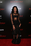 The World Premiere of TYLER PERRY'S ACRIMONY held at the SVA theater in New York