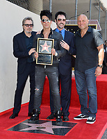Gary Oldman, Criss Angel, Lance Burton, Randy Couture at the Hollywood Walk of Fame Star Ceremony honoring illusionist Criss Angel. Hollywood Boulevard, Los Angeles, USA 20 July 2017<br /> Picture: Paul Smith/Featureflash/SilverHub 0208 004 5359 sales@silverhubmedia.com